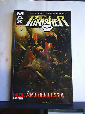 GRAPHIC NOVEL: THE PUNISHER - MOTHER RUSSIA - Paperback 2005 1st print
