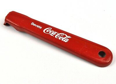 Coca-Cola Coke USA Italien Flaschenöffner Bottle Opener Bevete rot
