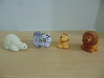 Fisher Price Little People Zoo Talkers Lot of 4