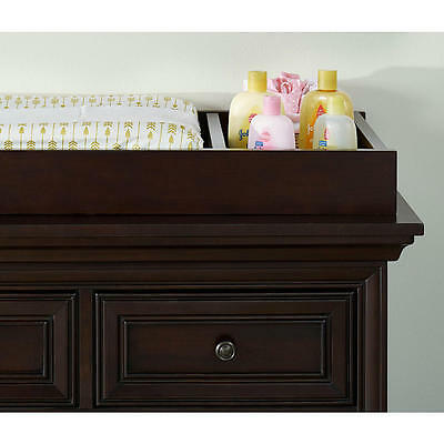 Oxford Baby Promenade Park Changing Table Topper - Cherry Ash