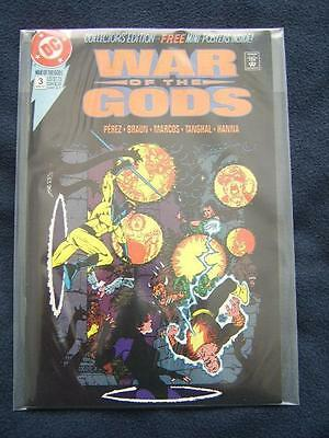 War of the Gods No.3 - Story & layouts by George Perez, Free Mini-Posters!!!