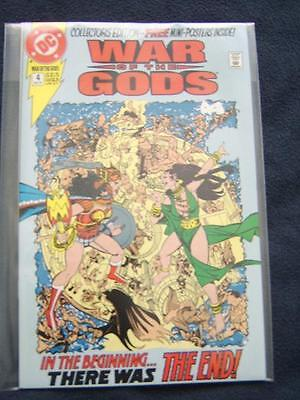 War of the Gods No.4 - Story & layouts by George Perez, Free Mini-Posters!!!