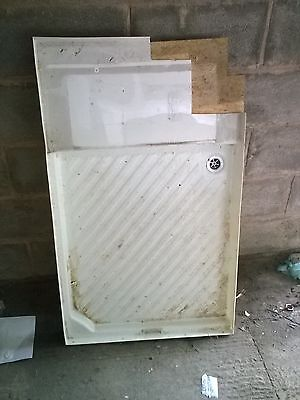 caravan motorhome bathroom shower tray ideal conversion