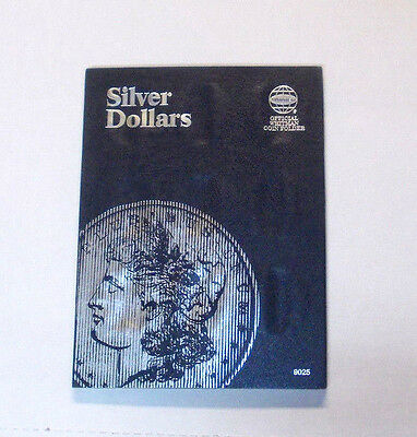 SILVER DOLLARS, NEW Undated Coin Folder with Space For 27 Dollar Size Coins