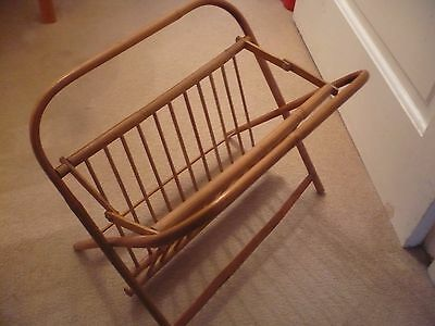 A Vintage Bamboo Magazine Rack A Great Looking Piece