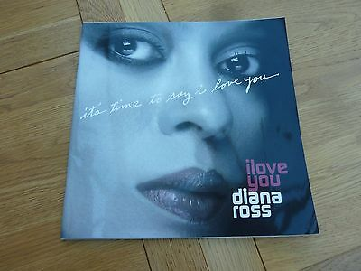 2007 Diana Ross I Love You Tour Programme 11 X 11 Inch
