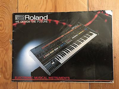 Roland music product booklet