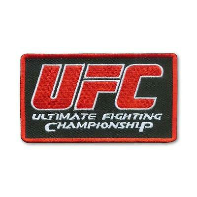 UFC Officially Licensed Main Logo Embroidered Patch New/Sealed in Clamshell