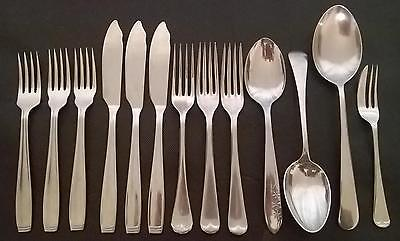 Vintage Firth Staybrite/Stainless Cutlery Lot Forks & Spoons Cake Fork