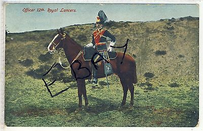 OFFICER OF THE 12th ROYAL LANCERS  BY E.F.A. MILITARY SERIES No 82
