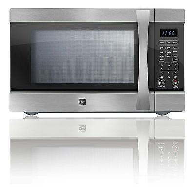Kenmore EC042A5E 1000W Convection Microwave - 1.5 cu ft - Stainless Steel