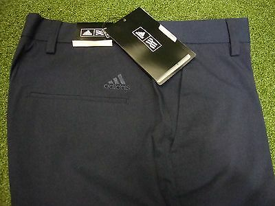 "NEW Adidas Climalite Stretch Textured Golf Trousers 30/32/34/38/40"" Waist Sizes"
