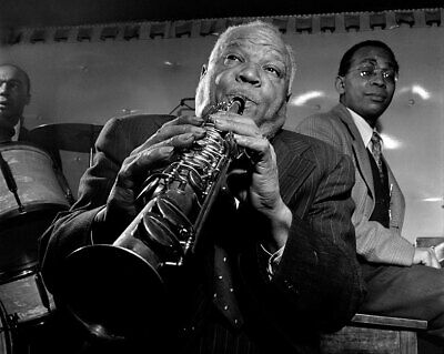 Sidney Bechet and Band At Jimmy Ryan's New York 11x14 Silver Halide Photo Print