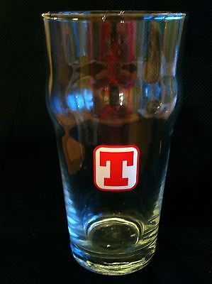 Tennent's Lager (Wellpark Brewery, Glasgow) Beer Glass. (Bottle Use)
