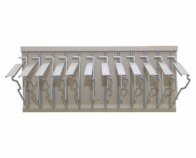 Adir Corp. Pivot Wall Rack With Hangers For Blueprints - Plans