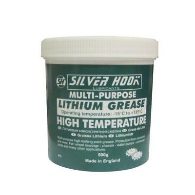 Silverhook EP2 Lithium Grease 500g Tub - High Temperature Multi Purpose Grease