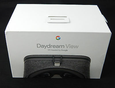 Brand NEW Sealed in box Google Daydream View VR headset with Controller Slate