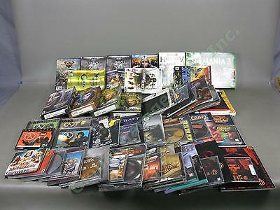 40+ PC Game Lot SIMS World Of WarCraft StarCraft Many Complete Big Boxes Manuals