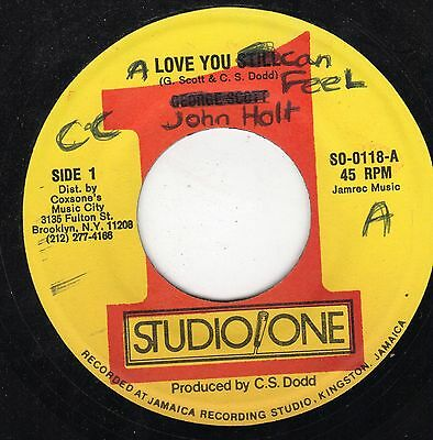""" LOVE YOU STILL. "" george scott. STUDIO ONE 7in 1982."