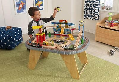 Kidkraft - Ensemble Train Et Table Multi-Transports