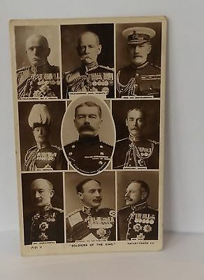 Postcard Soldiers Of The King