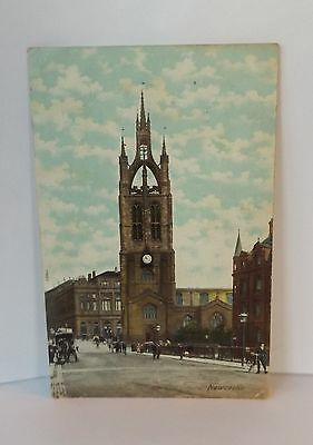 Old Art Postcard Newcastle St Nicholas Cathedral