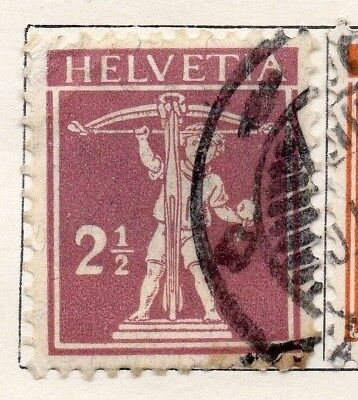 Switzerland 1916 Early Issue Fine Used 2.5c. 133348