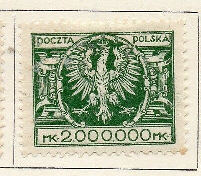 Poland 1922-24 Early Issue Fine Mint Hinged 2000000m. 133475
