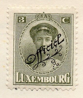 Luxembourg 1937 Early Issue Fine Mint Hinged 3c. Optd 133869