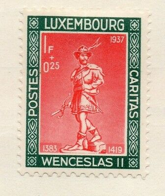 Luxembourg 1937 Early Issue Fine Mint Hinged 1F. 133874