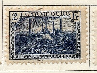 Luxembourg 1921 Early Issue Fine Used 2F. 133887