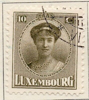 Luxembourg 1924-26 Early Issue Fine Used 5c. 133917
