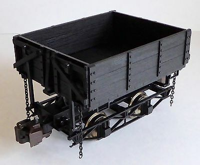 Set of 3 G Scale Bachmann Ore Wagons Wood Side Dump 92503