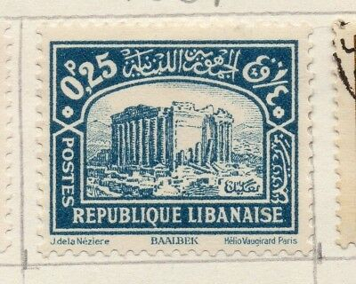 Great Lebanon 1931 Early Issue Fine Mint Hinged 25p. 133974