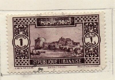 Great Lebanon 1931 Early Issue Fine Used 1p. 133977