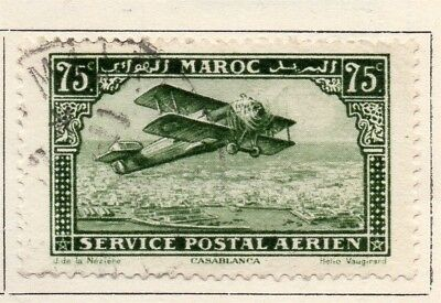 French Morocco 1922 Early Issue Fine Used 75c. 133623