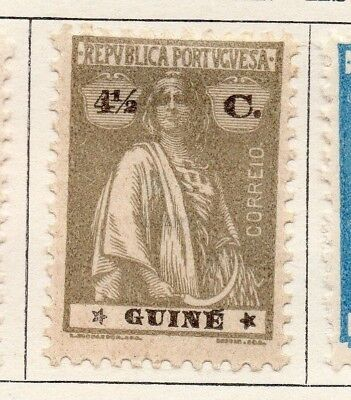 Portuguese Guinea 1922 Issue Fine Mint Hinged 4.5c. 133678
