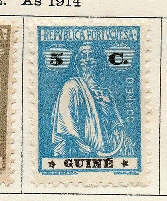 Portuguese Guinea 1922 Issue Fine Mint Hinged 5c. 133679