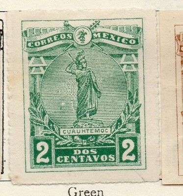 Mexico 1915 Early Issue Fine Mint Hinged 2c. 133835