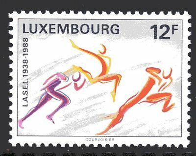 Luxembourg Y&T 1153 - SPORT LASEL - 1988  **MNH