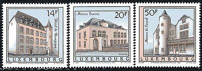 Luxembourg Y&T 1270/72 - ARCHITECTURE   - 1993  **MNH
