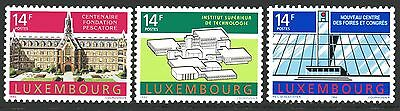 Luxembourg Y&T 1238/40 - BUILDINGS   - 1992  **MNH