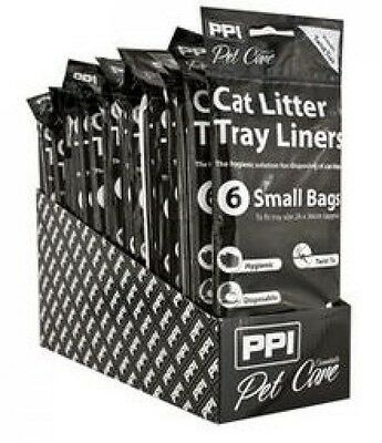 OFFER - 60 Small Litter Tray Liners For Cat Litter Toilets P3771