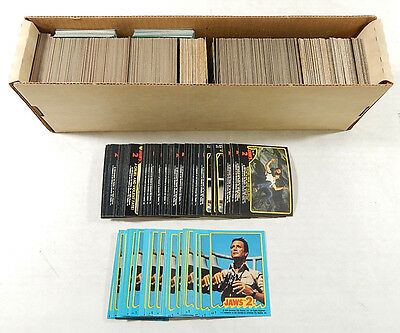 Over (700) 1978 Topps Jaws 2 Trading Cards & Stickers ^ Avg Nm/Mt