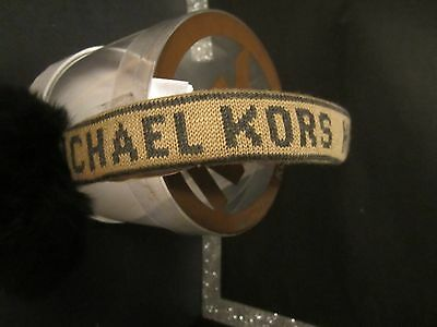 Michael Kors One Size Fits All Ear Muffs ~ New