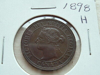 Collector Coin 1898H Higher grade Victoria large cent!