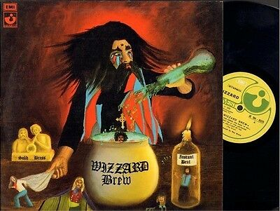 Wizzard Brew 1973 Italian Harvest Roy Wood Prog Psych Art Rock Roger Alexander