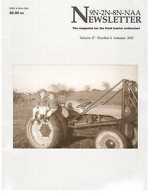 Ford Select-O-Speed Transmission, Farm Tractor Memories, Ford Newsletter