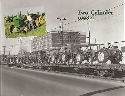 JOHN DEERE Model R tractor featured 1998 TWO CYLINDER Magazine 80 830