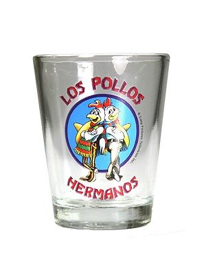 Breaking Bad Los Pollos Hermanos Shot Glass CLEARANCE SALE